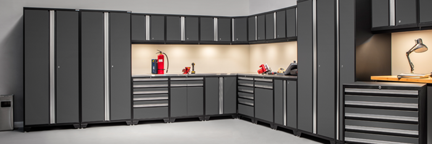 storage set pro cabinets piece newage htm garage gray corner cabinet in series l