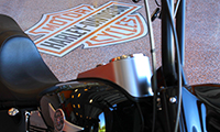 We can even add custom logos to your garage floor for that personal touch.